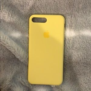 Accessories - yellow iphone 8 plus case